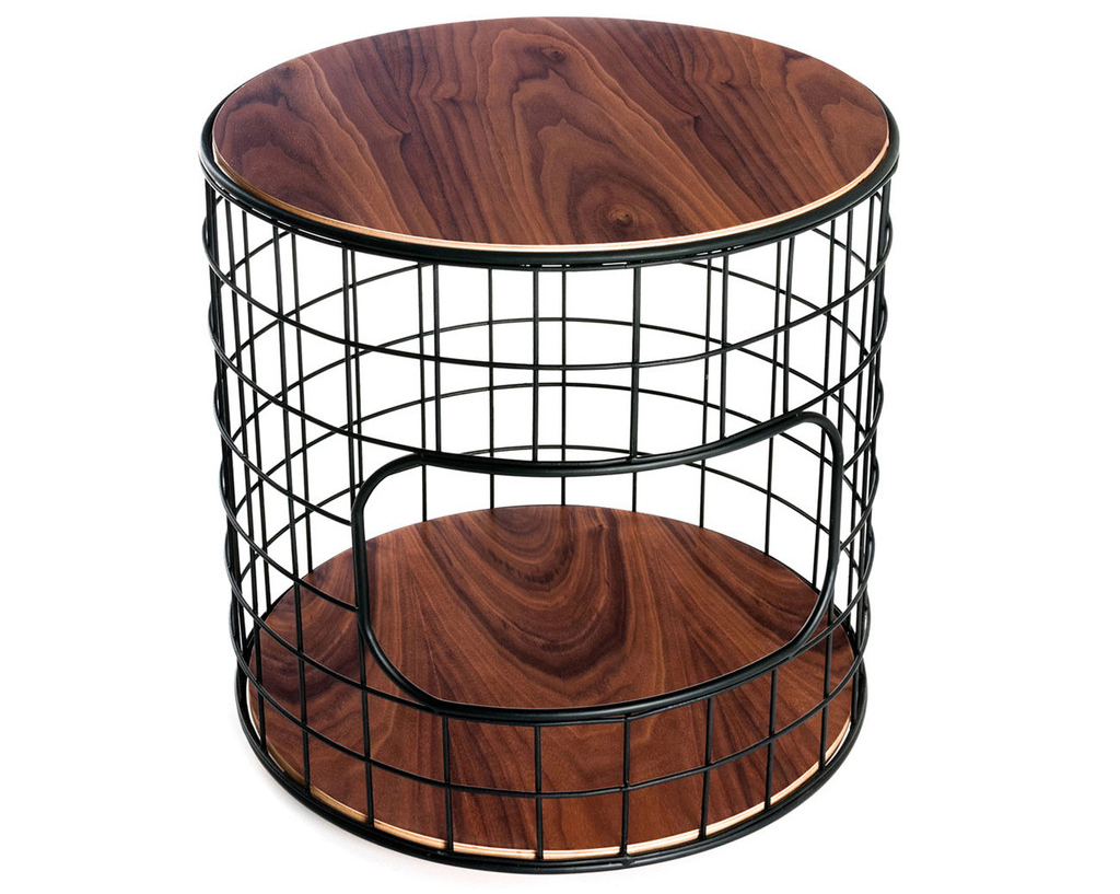 Wireframe End Table Kew Home